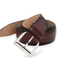 Sutor Mantellassi - Adjustable Leather Belt - Lyst