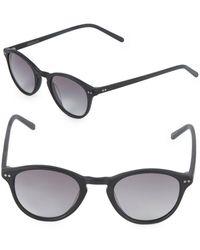 Vera Wang - 46mm Round Sunglasses - Lyst