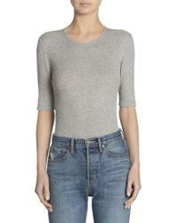 Vince - Ribbed Bodysuit - Lyst