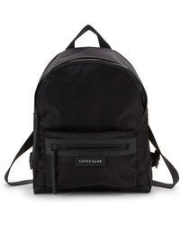 Longchamp - Le Pliage Logo Backpack - Lyst