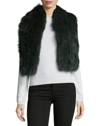 Annabelle New York - Jessa Fox Fur Scarf - Lyst