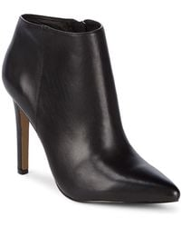 Pure Navy - Stiletto Booties - Lyst