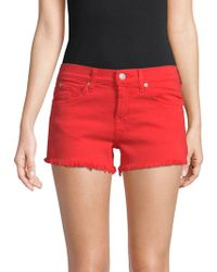 7 For All Mankind - Cut Off Shorts - Lyst