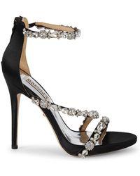 Badgley Mischka - Quest Embellished Sandals - Lyst