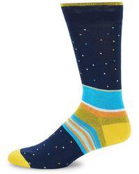 Bugatchi - Multicolored Crew Socks - Lyst