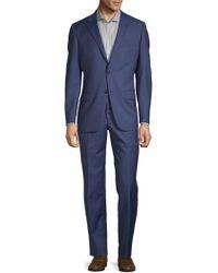 Hickey Freeman - Regular-fit Pinstripe Wool Suit - Lyst