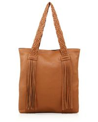 Rebecca Minkoff | Wendy Fringed Leather Tote | Lyst