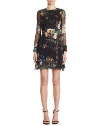 Adam Lippes - Silk Mini Dress - Lyst