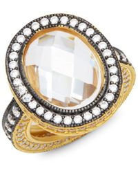 Freida Rothman - Radiance Pavé Cocktail Ring - Lyst
