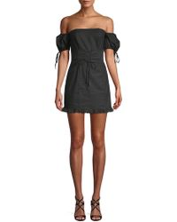 Lovers + Friends - Bethany Off-the-shoulder Mini Dress - Lyst