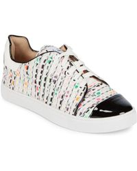 Isa Tapia - Printed Lace-up Trainers - Lyst