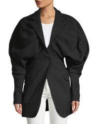 Jacquemus - Draped Wool Jacket - Lyst