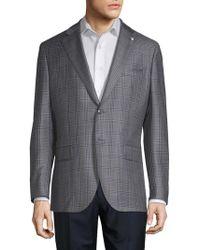 Lubiam - Glen Plaid Wool Sportcoat - Lyst