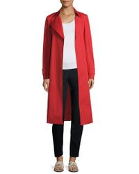 Lafayette 148 New York - Inna Belted Napoleon Trench Coat - Lyst