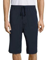 Vince - Stretch Nylon Drop Rise Shorts - Lyst