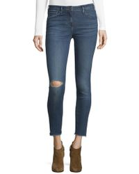 3x1 - Midway Extreme Cropped Skinny Jeans - Lyst
