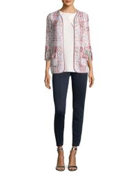 St. John - Soft Ribbon Cardigan - Lyst