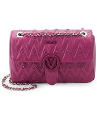 Valentino By Mario Valentino - Quilted Leather Shoulder Bag - Lyst