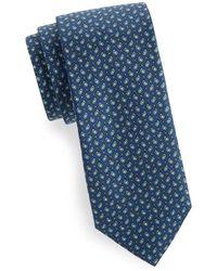 Eton of Sweden - Paisley Silk Tie - Lyst