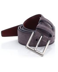 Saks Fifth Avenue - Collection Solid Suede Belt - Lyst