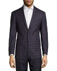 Michael Kors - Chequered Wool Sport Coat - Lyst