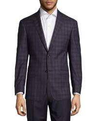 Michael Kors - Checkered Wool Sport Coat - Lyst