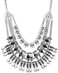 Cara - Multi-layer Necklace - Lyst