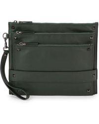 Valentino - Rockstud Leather Clutch - Lyst