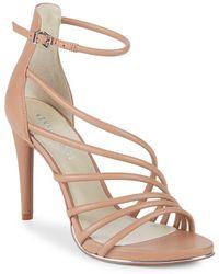 Kenneth Cole - Belinda Leather Stiletto Sandals - Lyst