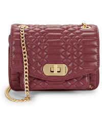 Zadig & Voltaire - Skinny Love Quilted Leather Crossbody Bag - Lyst