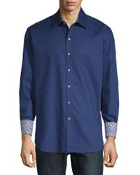 Robert Graham - Windsor Cotton Button-down Shirt - Lyst