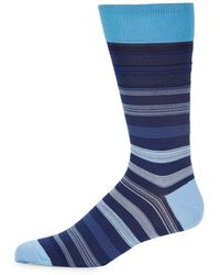 Bugatchi - Striped Socks - Lyst