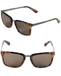 Zac Posen - Marcelo 53mm Square Sunglasses - Lyst
