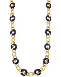 Kenneth Jay Lane - Braided Link Necklace - Lyst