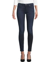 7 For All Mankind - Gwenevere Slim-fit Super Stretch Jeans - Lyst