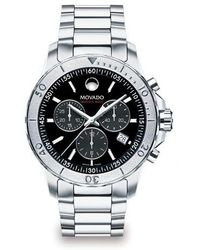 Movado - Series 800 Chronograph Watch - Lyst