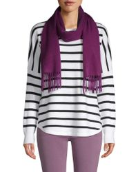 Saks Fifth Avenue - Solid Cashmere Scarf - Lyst