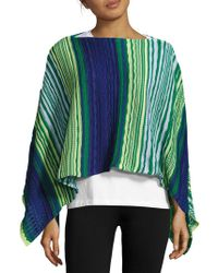 Missoni - Multicolored Crochet Cape - Lyst