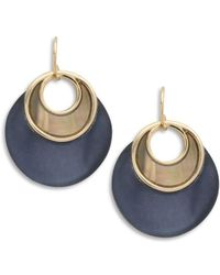 Alexis Bittar - Lucite, Mother-of-pearl Drop Earrings - Lyst
