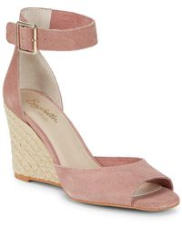 Seychelles - Leather Wedge Espadrilles - Lyst