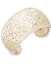 Diane von Furstenberg - Fireworks Cuff Bracelet - Lyst
