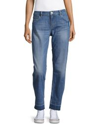 Maje - Straight-leg Faded Jeans - Lyst