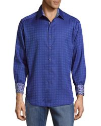 Robert Graham - Rialto Cotton Button-down Shirt - Lyst