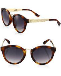 bb5ac0e6aa8 Paula s Acetate Women s Sunglasses.  408. FORZIERI · Jimmy Choo - Pepy 50mm  Round Sunglasses - Lyst