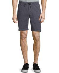 Michael Bastian - Bicycle-print Shorts - Lyst