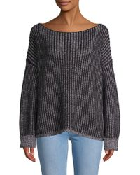 French Connection - Original Mozart Chunky Ribbed Knit Sweater - Lyst