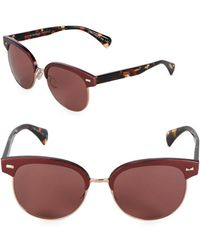 Oliver Peoples - 55mm Clubmaster Sunglasses - Lyst