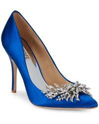 Badgley Mischka - Marcela Embellished Stiletto Court Shoes - Lyst