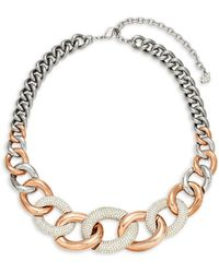 Swarovski - Crystal Choker Necklace - Lyst