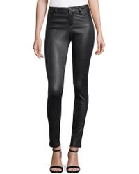 Alice + Olivia - Angie Leather Pants - Lyst